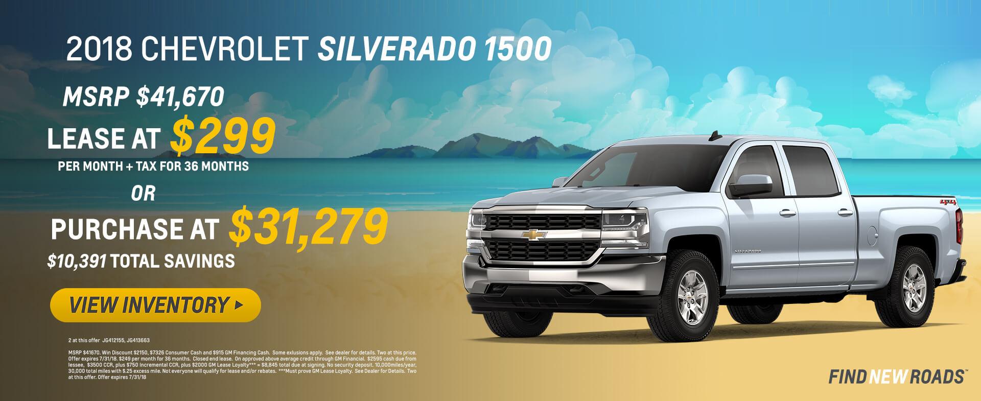 2018 Silverado 31279