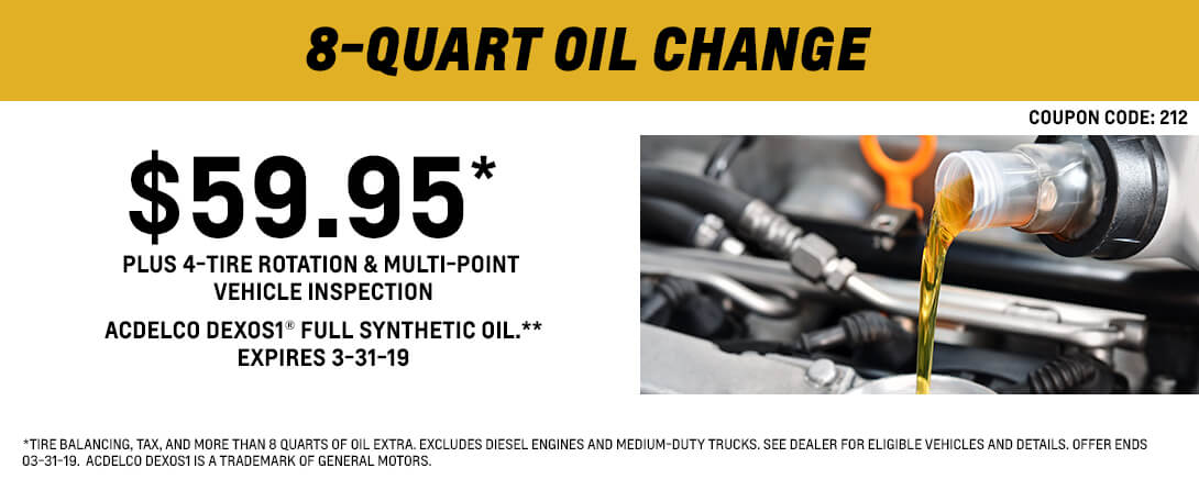 8-Quart Oil Change