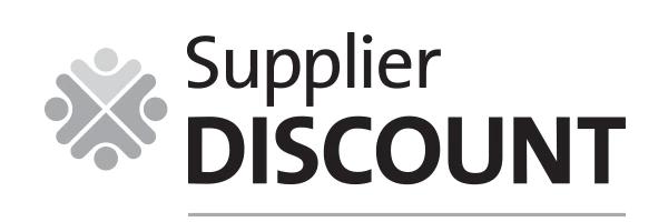 Supplier Discount
