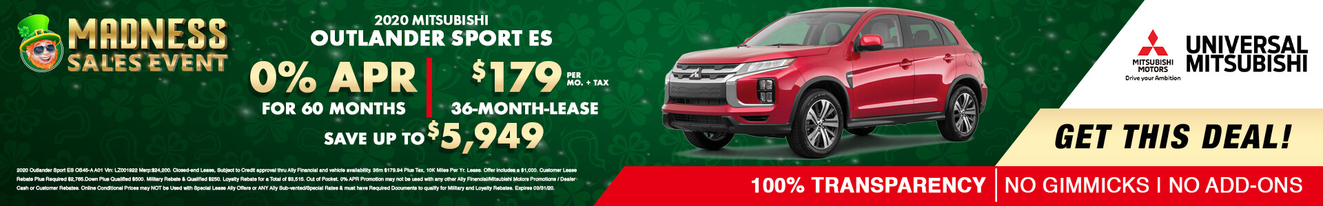 Mitsubishi Outlander Sport $16745
