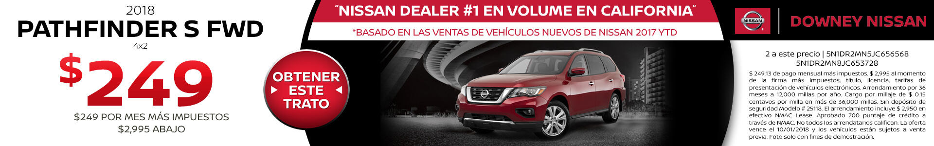 Pathfinder - Lease for $249