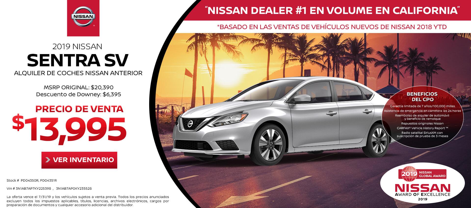 Nissan Dealership Los Angeles >> Downey Nissan El Concesionario Nissan Numero 1 De California