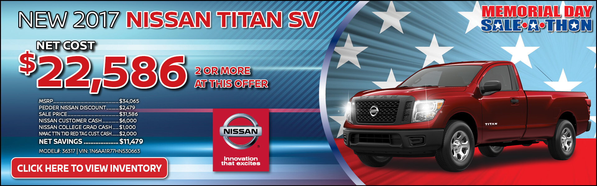 Nissan Titan $22,586 Purchase