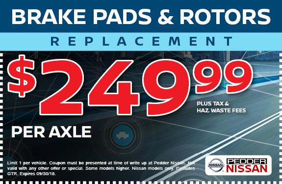 Brake Pads & Rotors