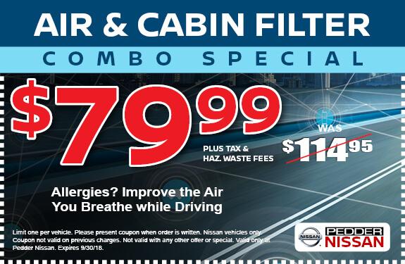 Air & Cabin Filter