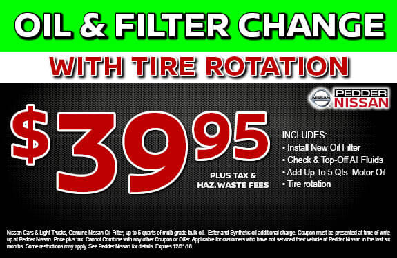 Oil & Filter with Tire Rotation