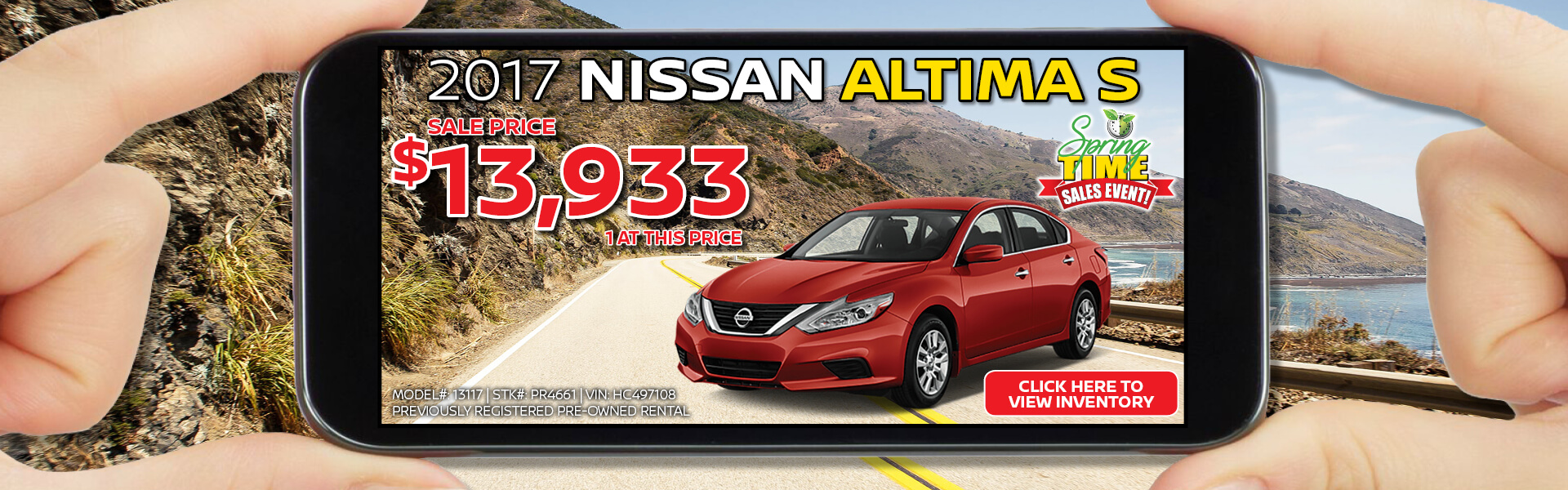 Altima - Pre-Owned Rental