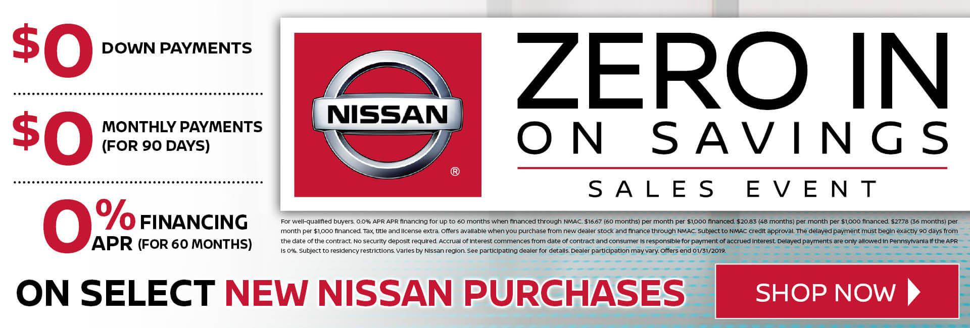 Zero in - Purchases