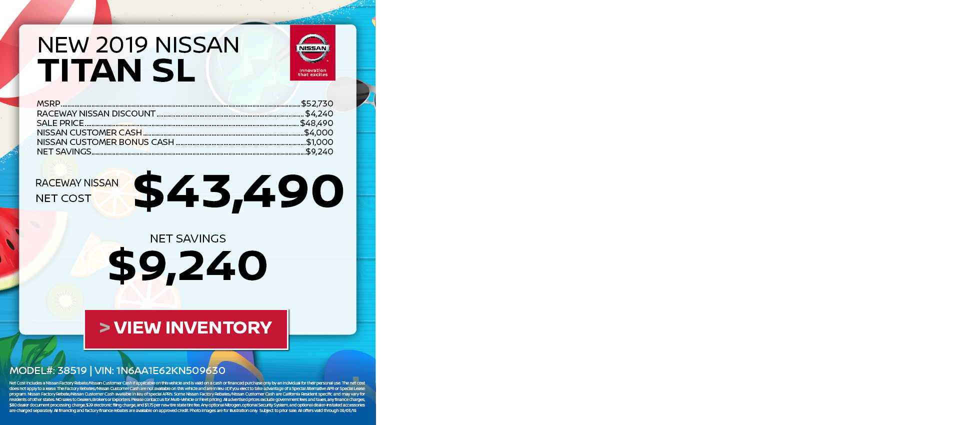 Titan Video $43,490