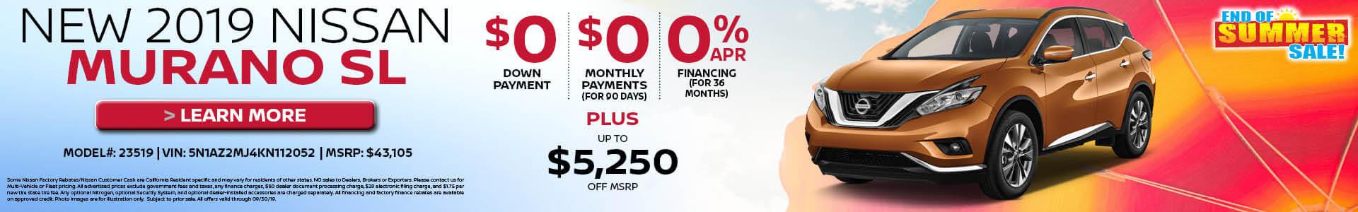 Murano $43105