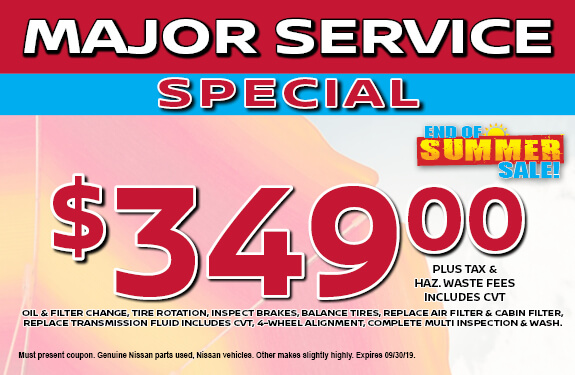 Special Pricing on Expert Service Available Now at Raceway