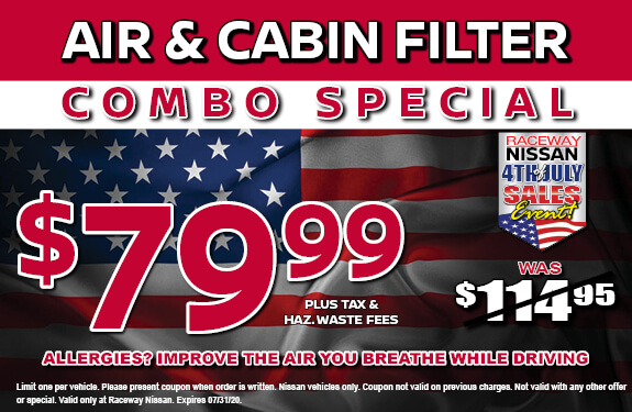 AIR & CABIN FILTER COMBO SPECIAL