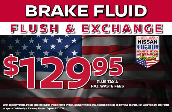 BRAKE FLUID FLUSH & EXCHANGE