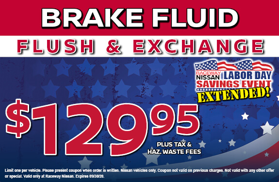 BRAKE FLUID FLUSH & EXCHANGE