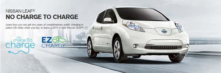 Short Description 24 Months Of Complimentary Public Charging With The Purchase Or Lease A New Model Year 2017 Later Nissan Leaf From Paring