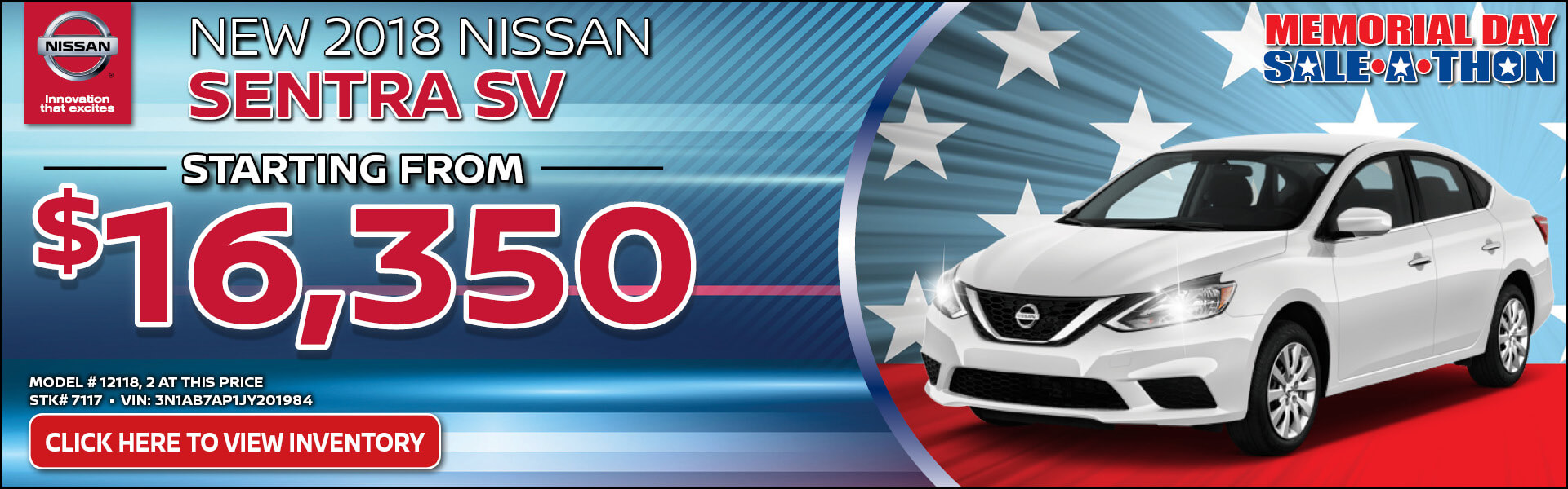 Nissan Sentra $16,350 Purchase