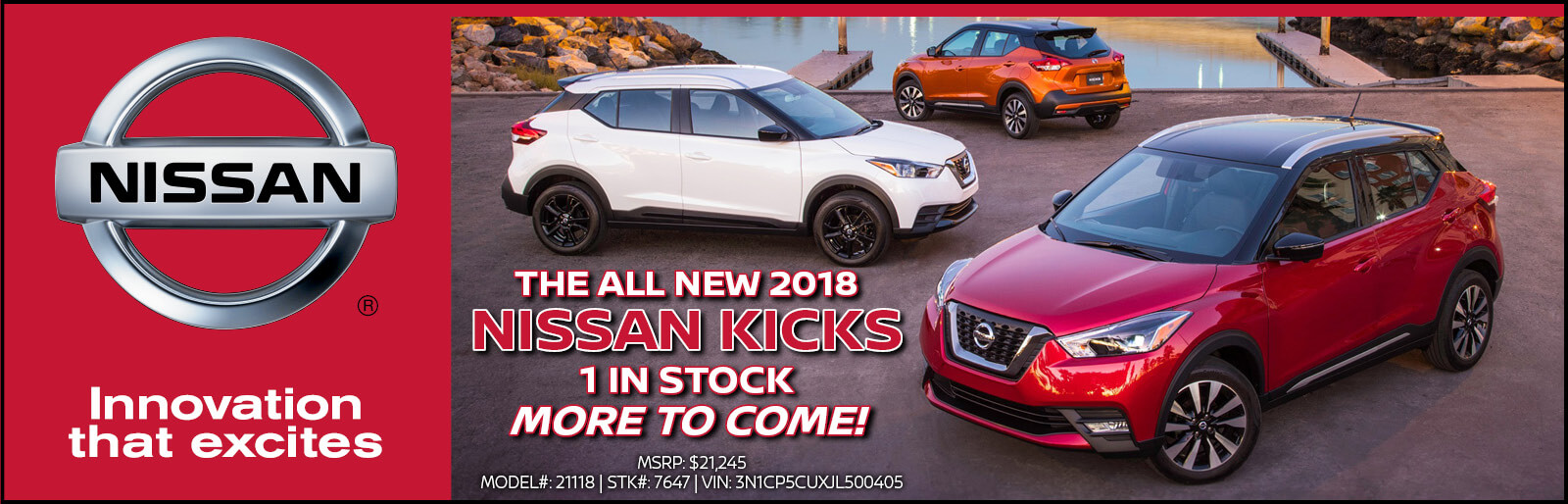 All New 2018 Nissan Kicks