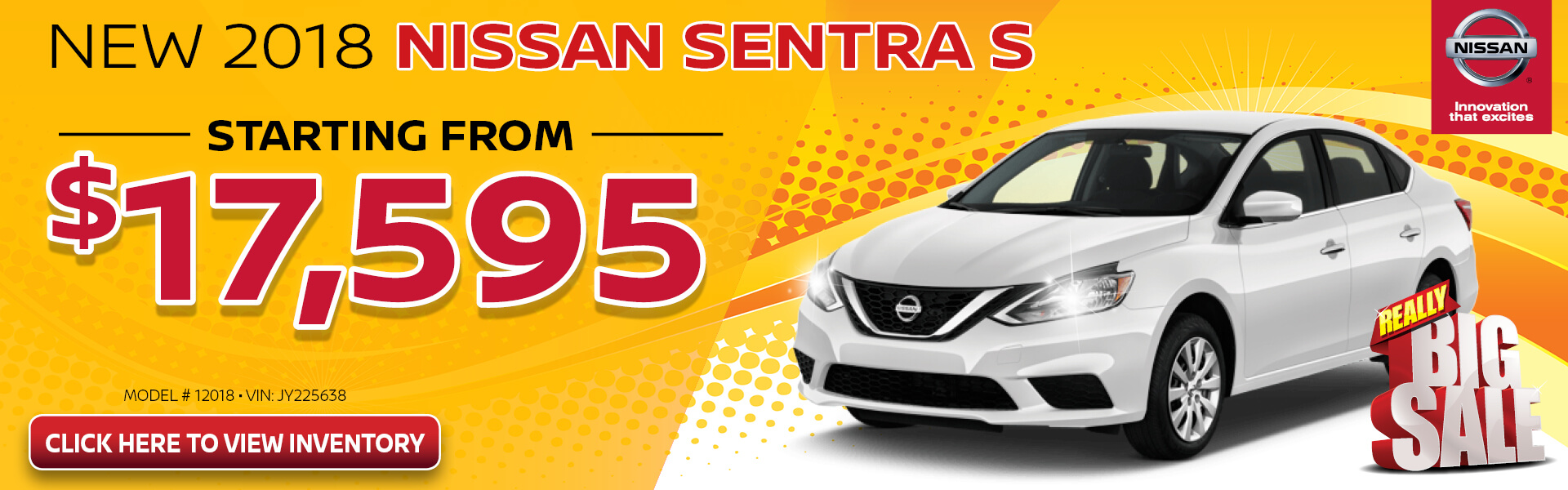 Nissan Sentra $17,595 Purchase