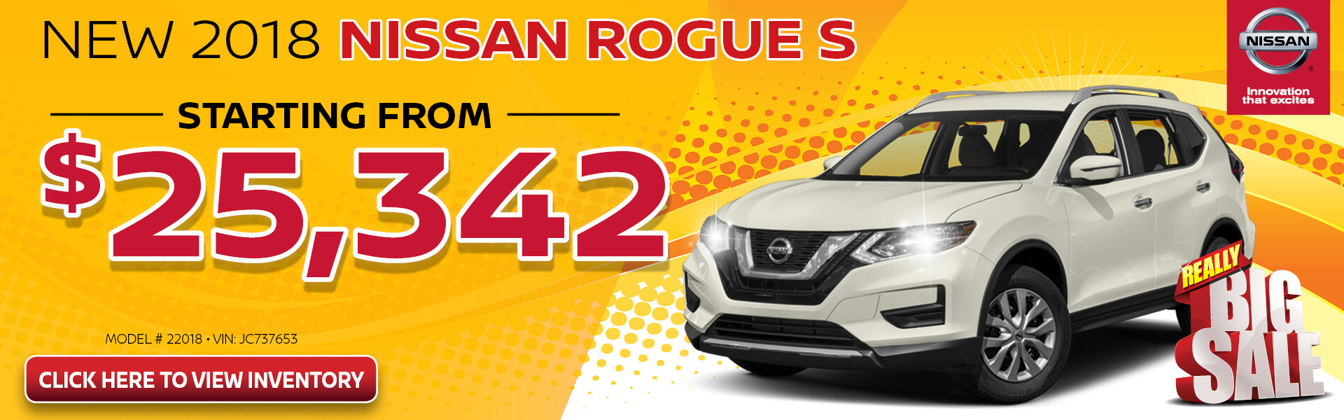 Nissan Rogue $25,342 Purchase