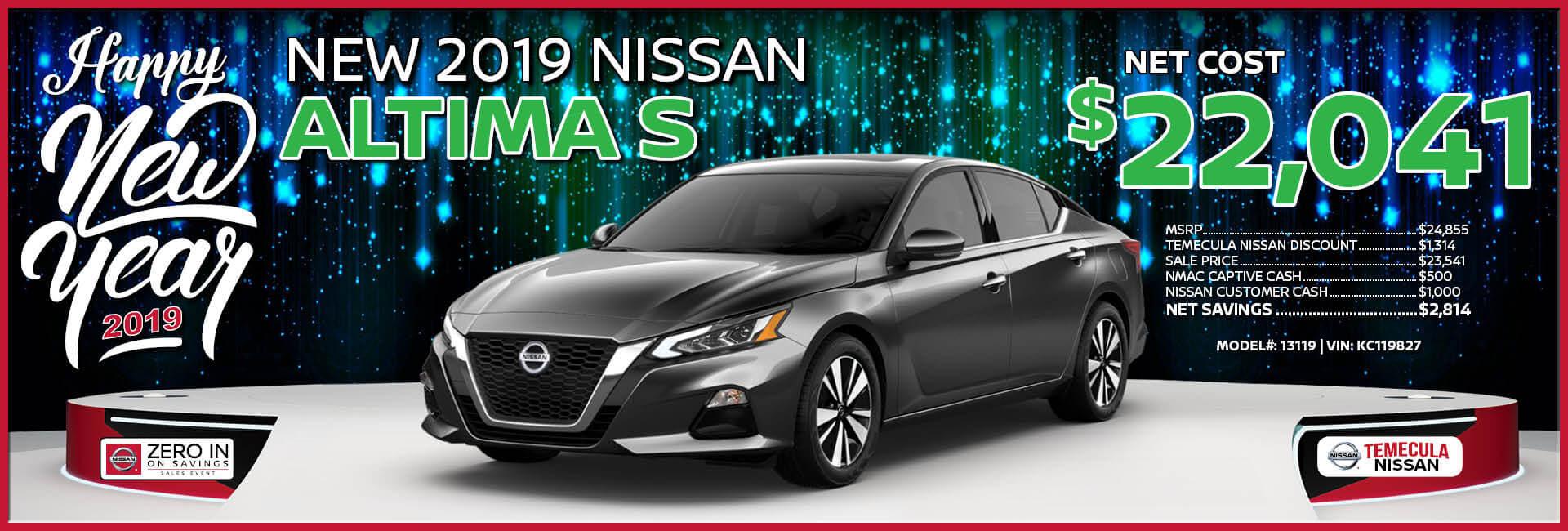 Nissan Altima $22,041