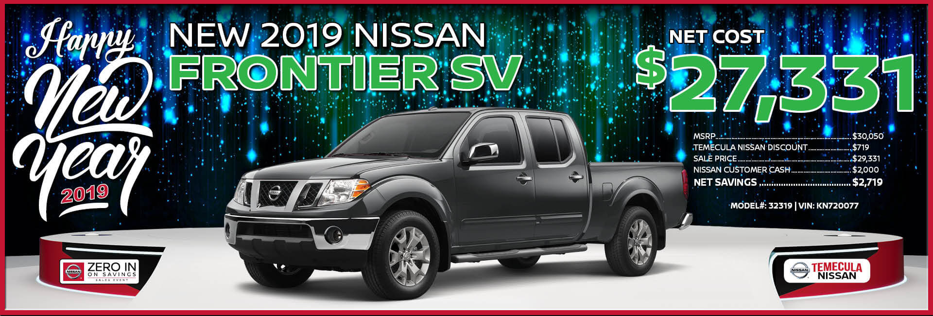 Nissan Frontier $27,331