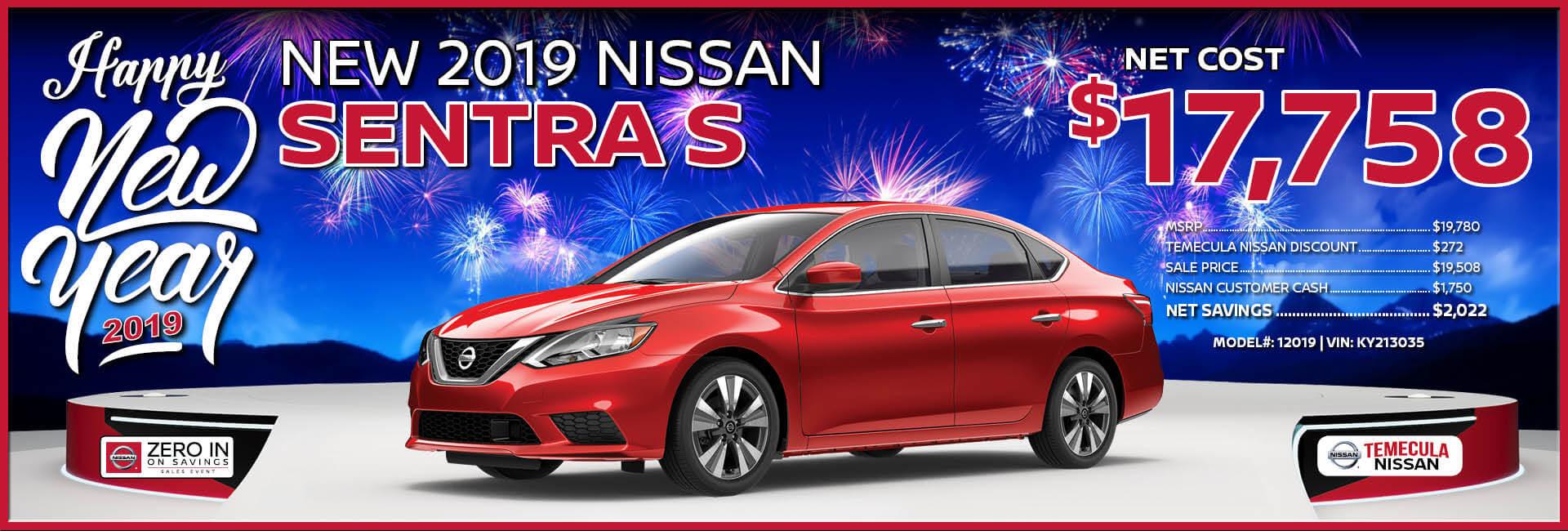 Nissan Sentra $17,758