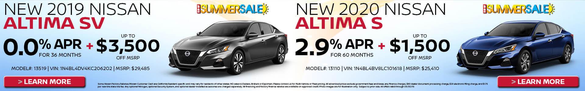 Altima $239 Lease