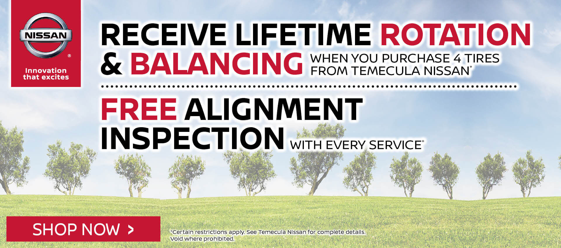 Lifetime Rotation & Balance