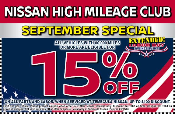 Nissan High Mileage Club
