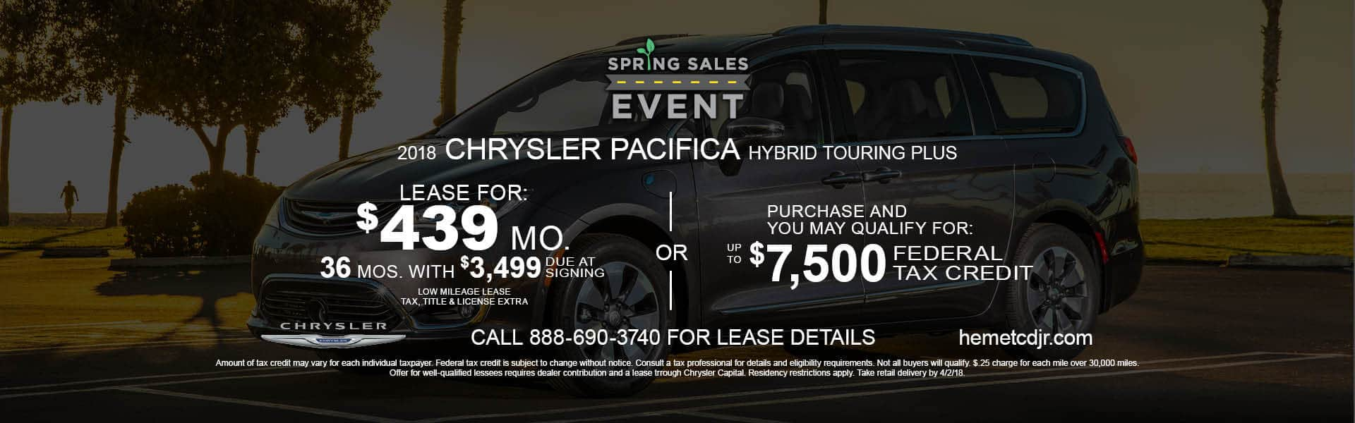 Pacifica Lease or Purchase