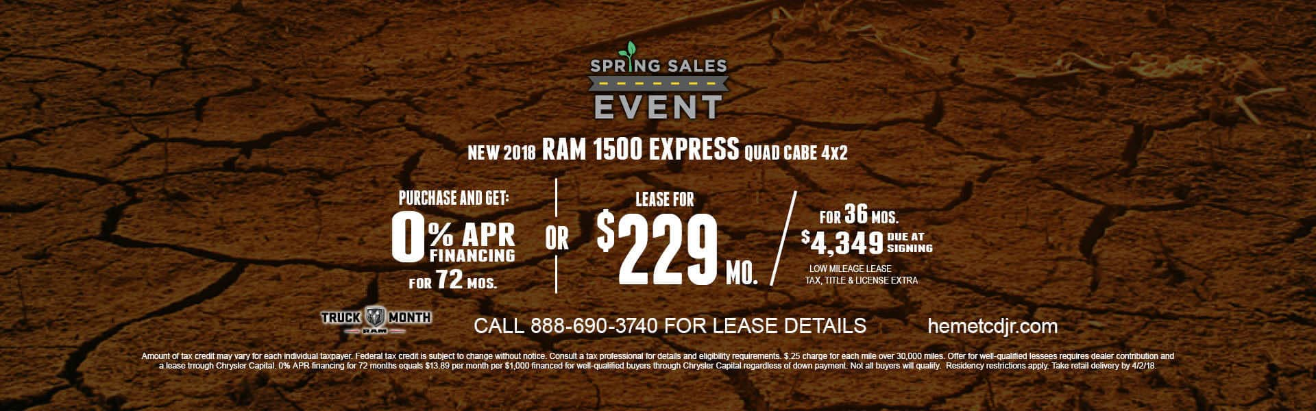 Ram 1500 Express Lease or Purchase