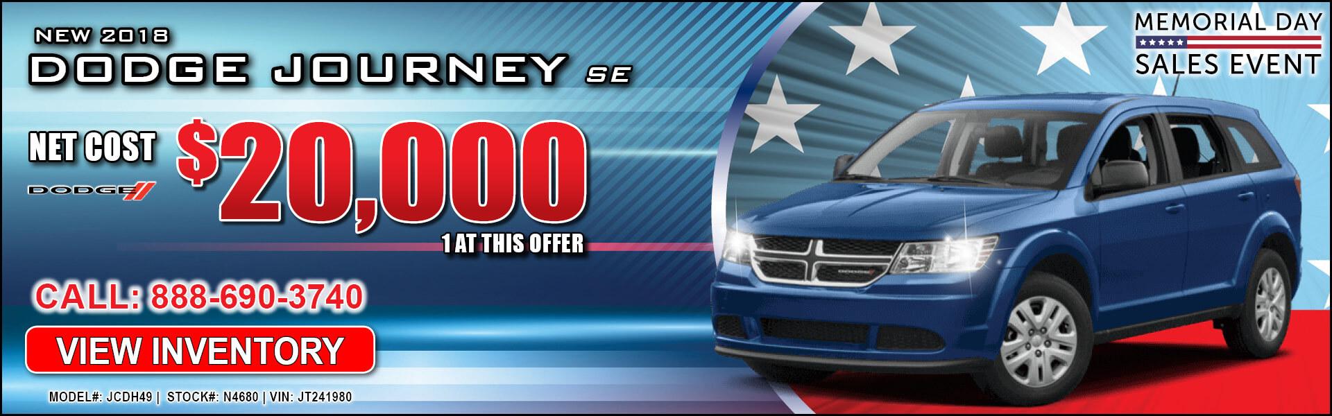 Dodge Journey $20,000