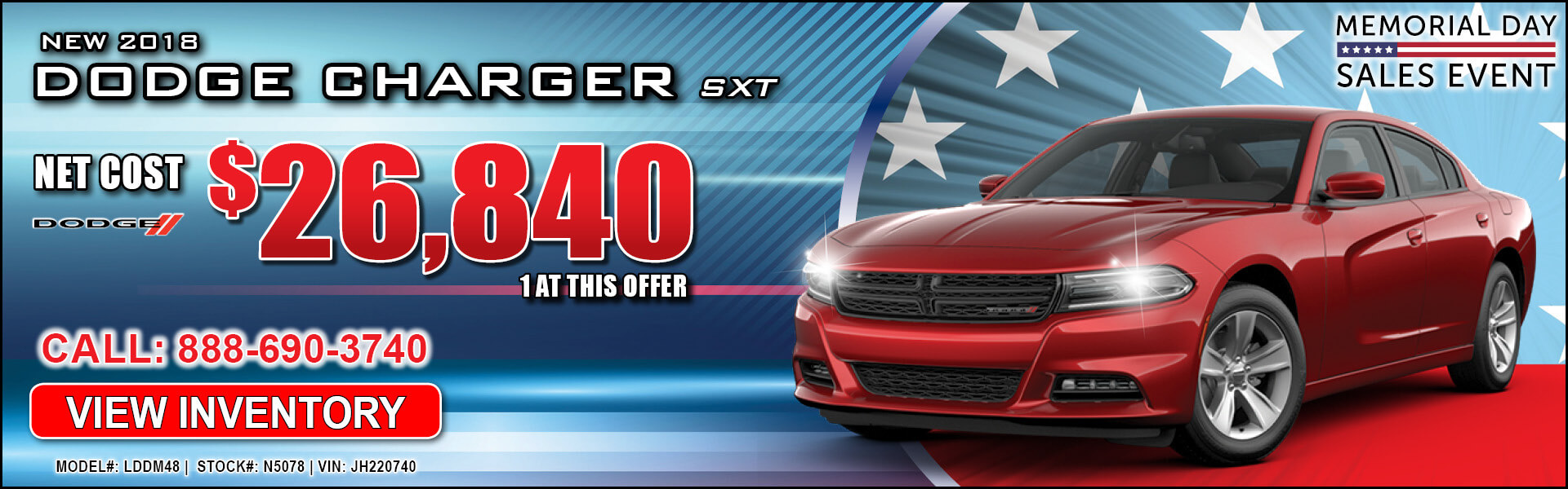 Dodge Charger $26,840