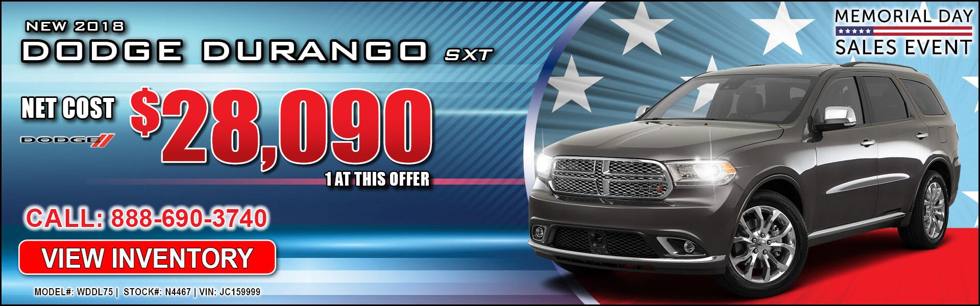 Dodge Durango $28,090