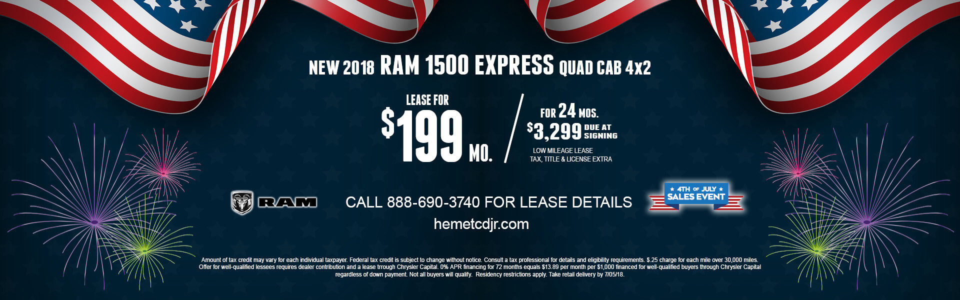 Ram 1500 Express $199 Lease