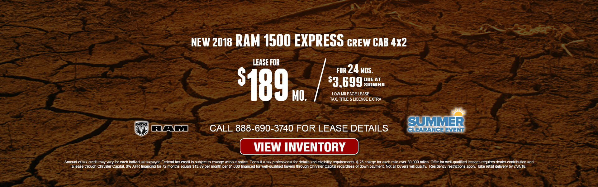 Ram 1500 Express $189 Lease