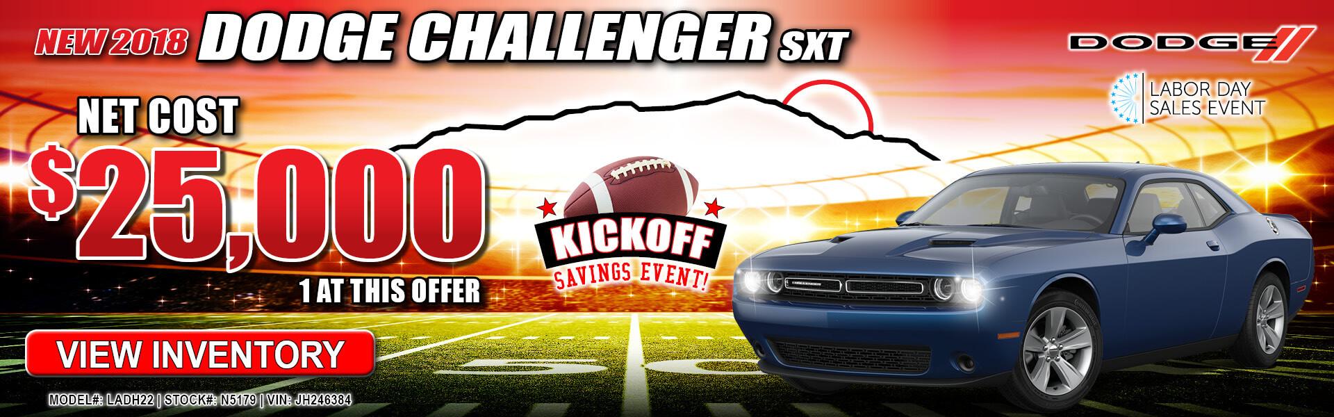 Dodge Challenger $25,000