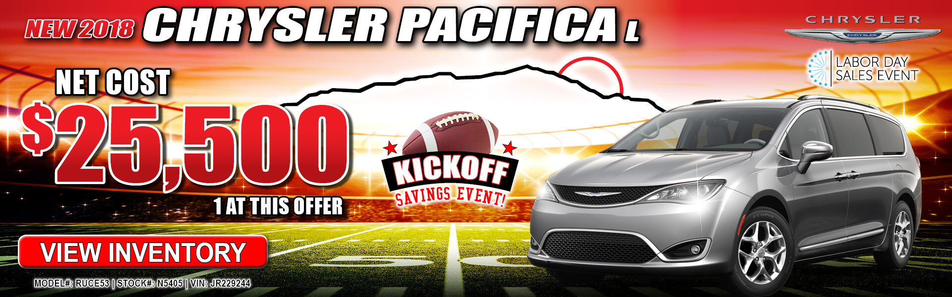 1 New Pacifica In Stock Serving Perris Menifee Palm Springs Chrysler 200 Fuel Filter Temecula Ca Hemet Dodge Jeep Ram