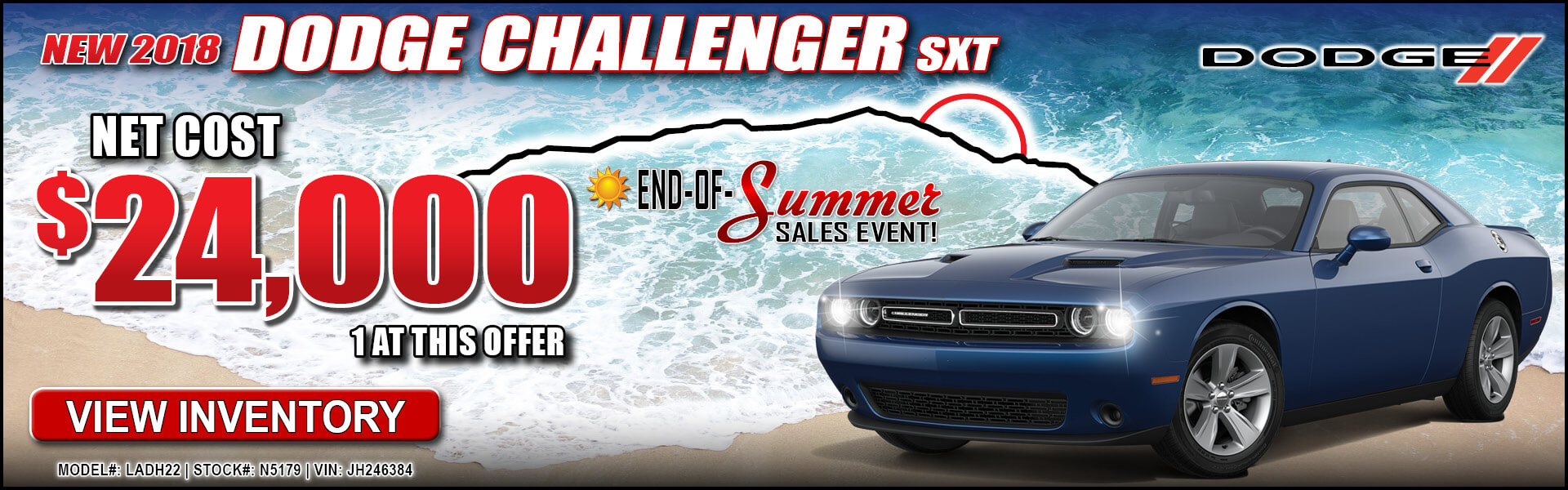 Dodge Challenger $24,000