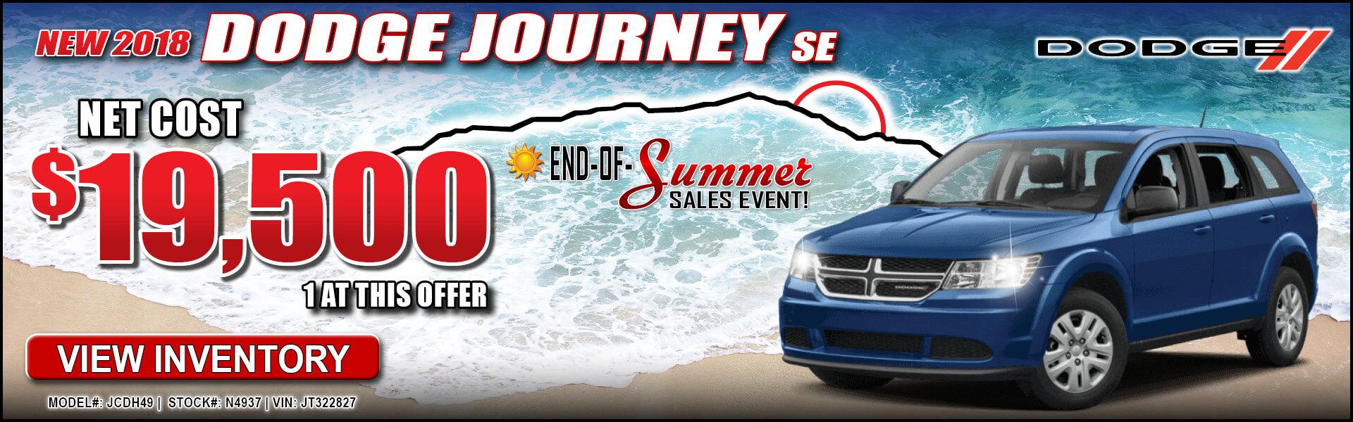 Dodge Journey $19,500