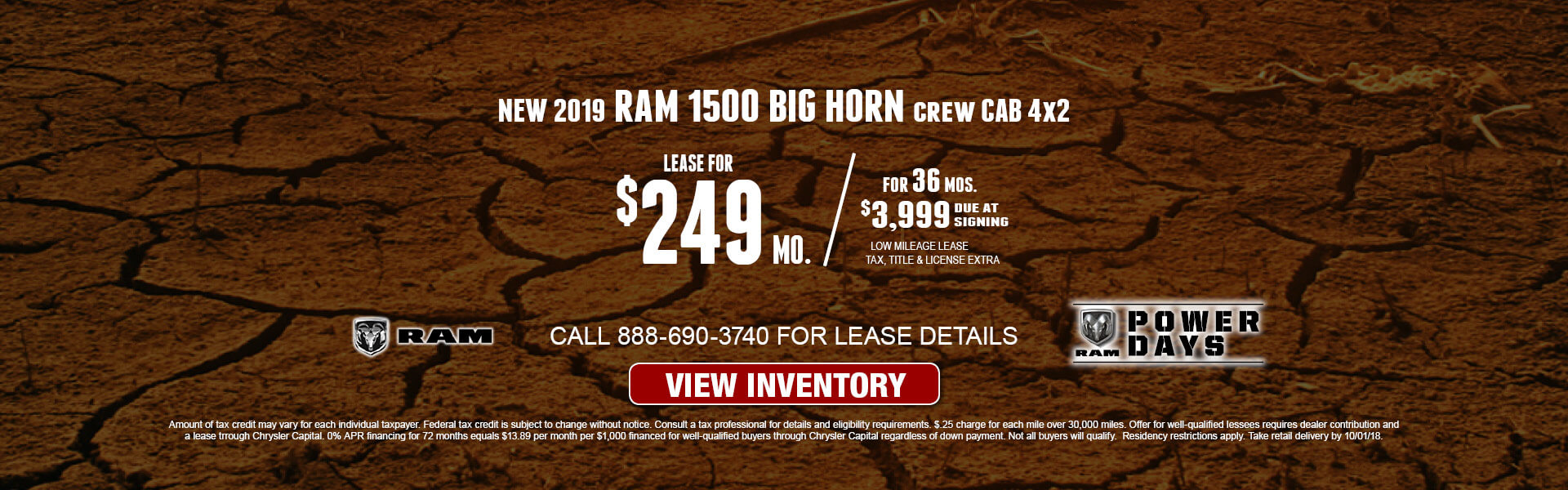Ram 1500 Express $249 Lease
