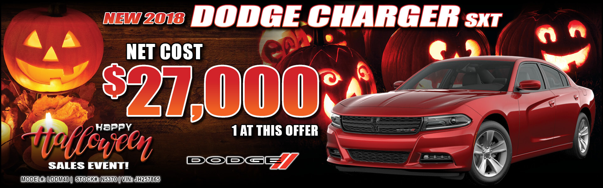 Dodge Charger $27,000