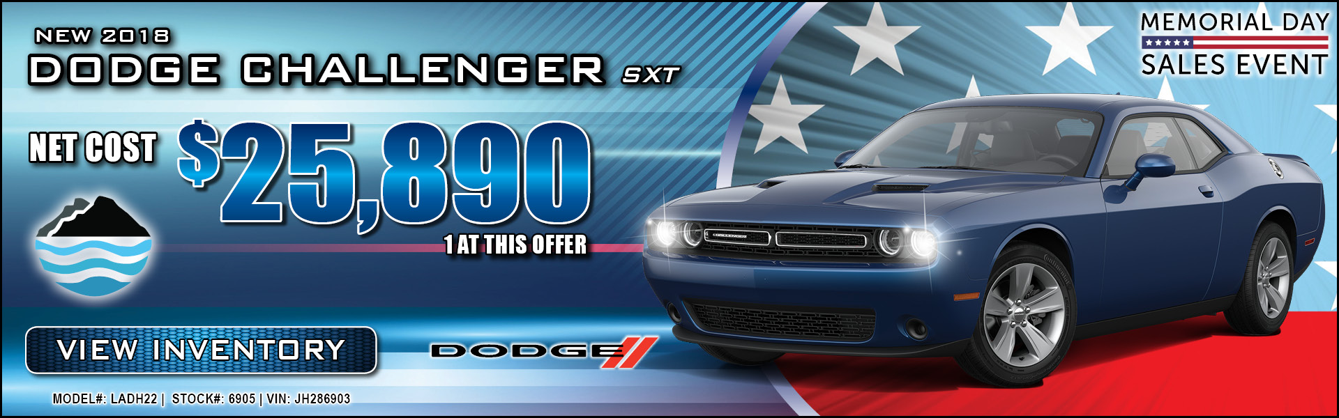 Dodge Challenger $25,890
