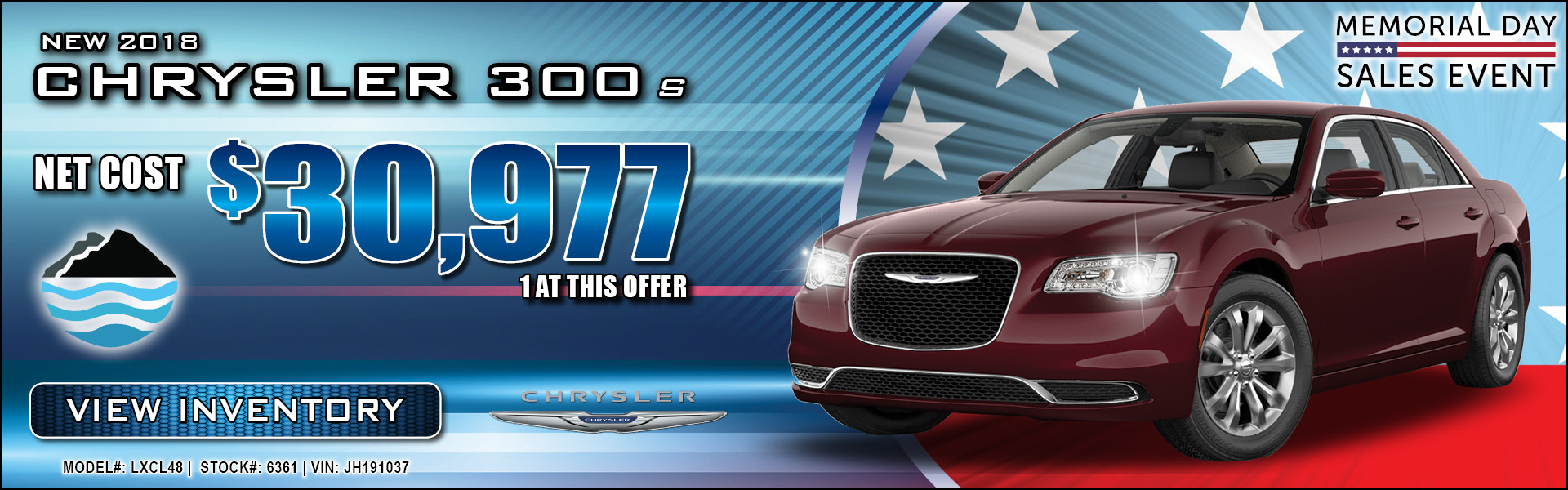 Chrysler 300 $30,977