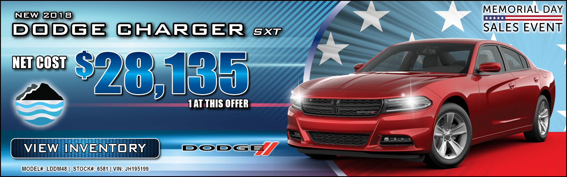 Dodge Charger $28,135