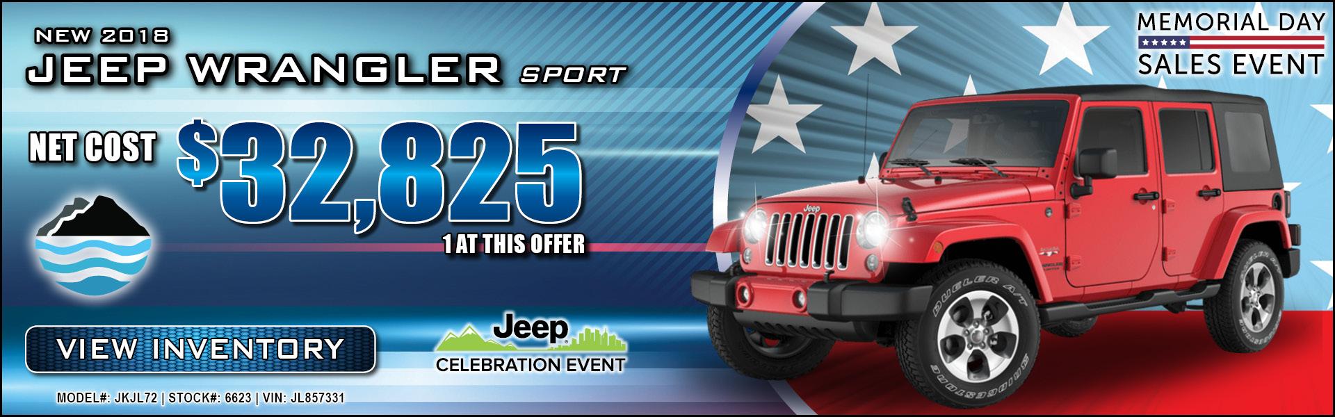 Jeep Wrangler JK $32,825