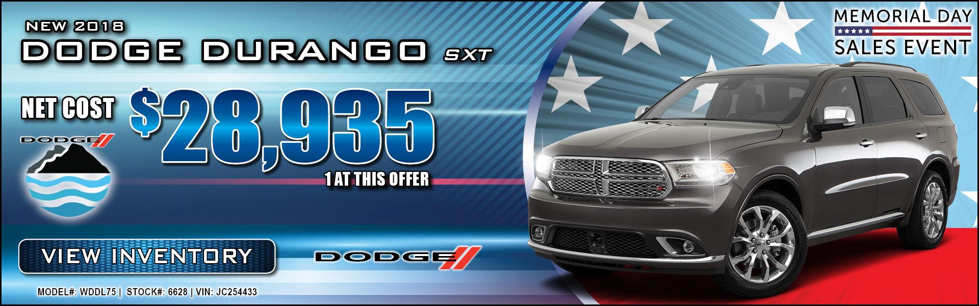 Dodge Durango $28,935