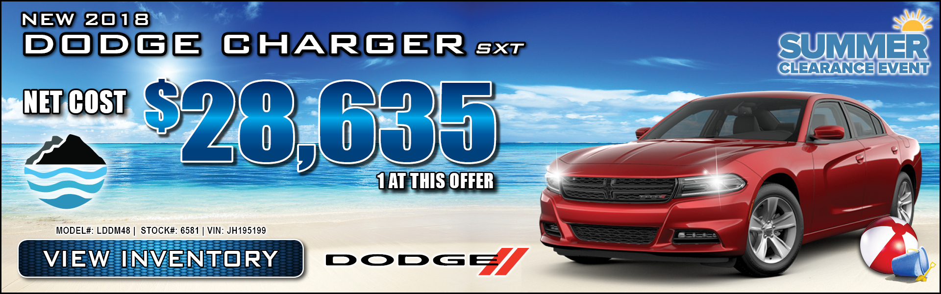 Dodge Charger $28,635