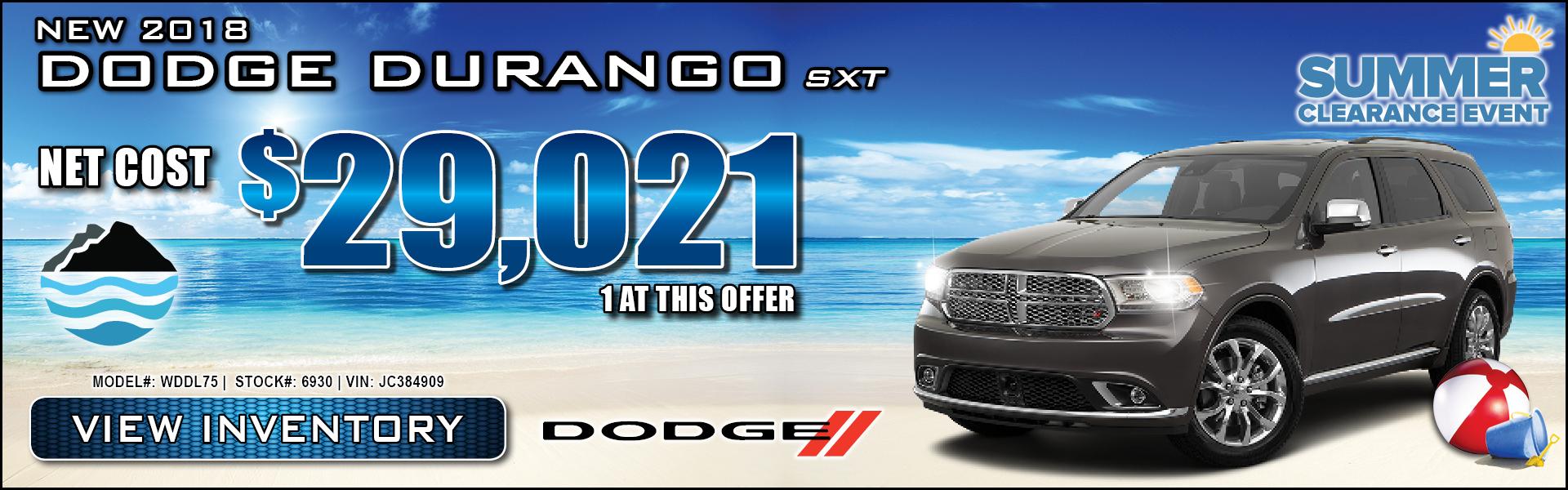 Dodge Durango $29,021