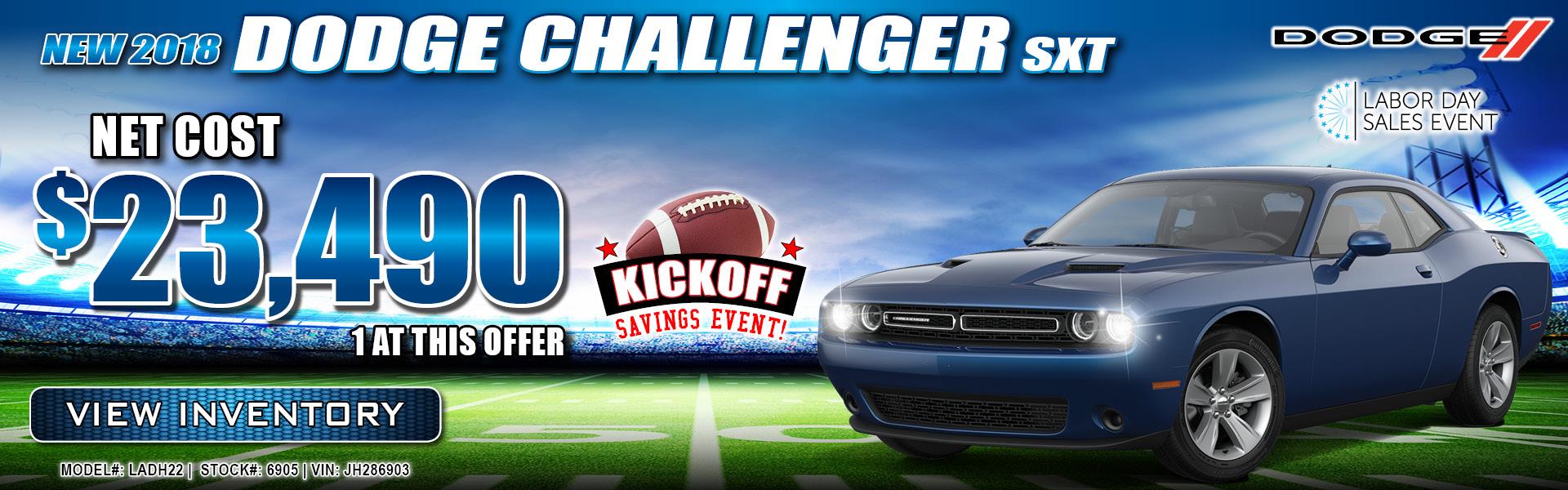 Dodge Challenger $23,490